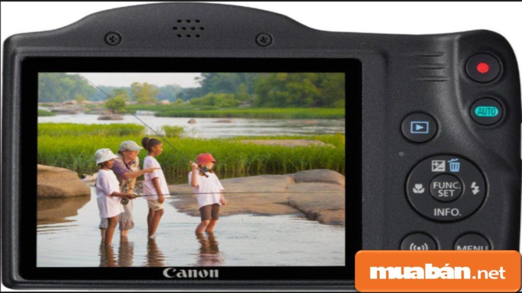Canon PowerShot SX430 IS 20Mp và Digic 4+ giúp bạnchụp hình đẹp với chế độ lấy nét tự động, liên tục.