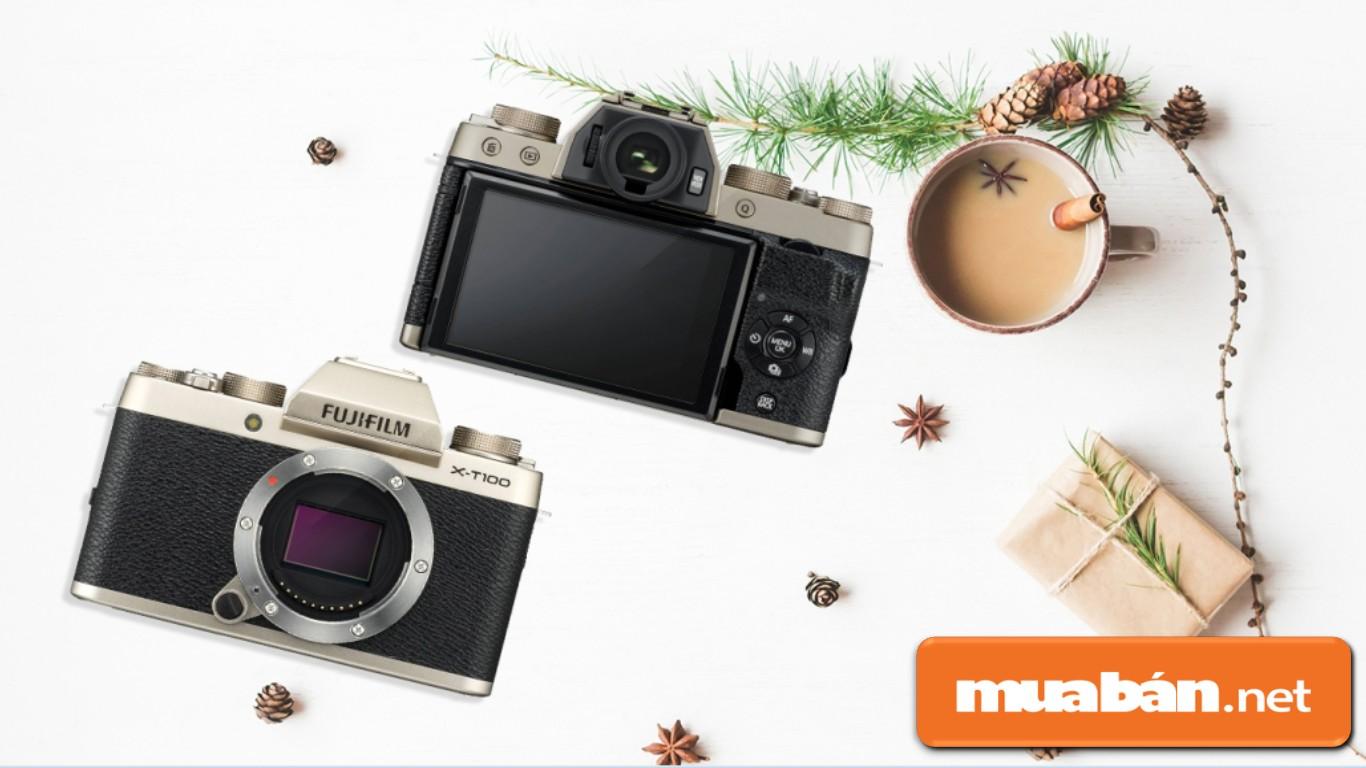 Máy ảnh Fujifilm X-T100 \u2013 là dòng máy ảnh không gương mới nhất trong