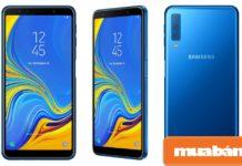 """Điện thoại Samsung A7 2018 được xem như là """"siêu phẩm"""" của Samsung ở phân khúc tầm trung"""