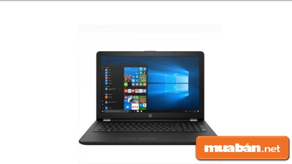 Laptop HP 15-bs648TU có màn hình với kích thước 15,6 inch.