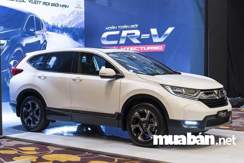 Phiên bản mới nhất của Honda - Honda CR-V 2018 ra mắt tại Việt Nam ngày 13/11/2017.