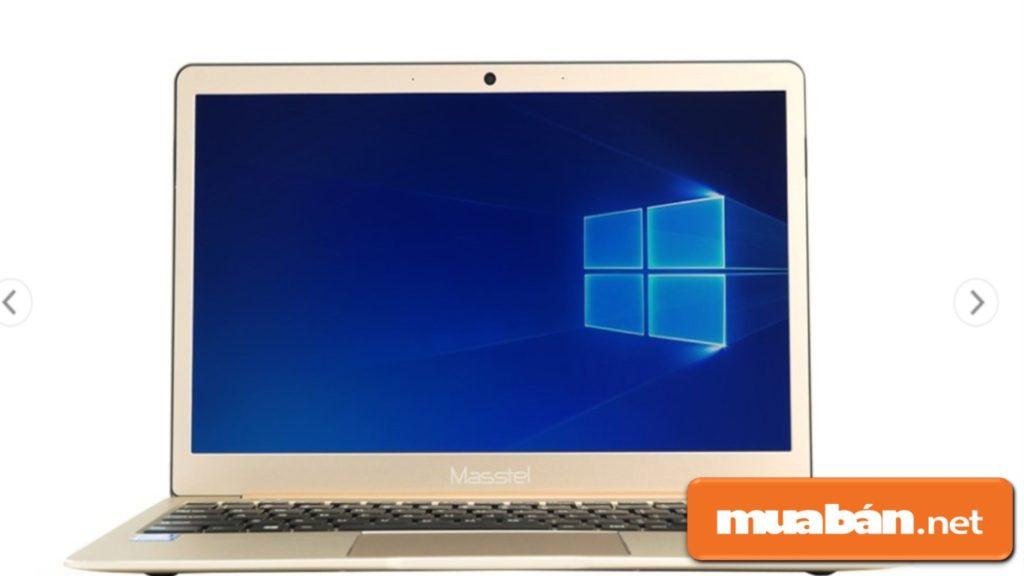Masstel L133/Celeron N3350 Windows 10 có màn hình 13,3 inch.