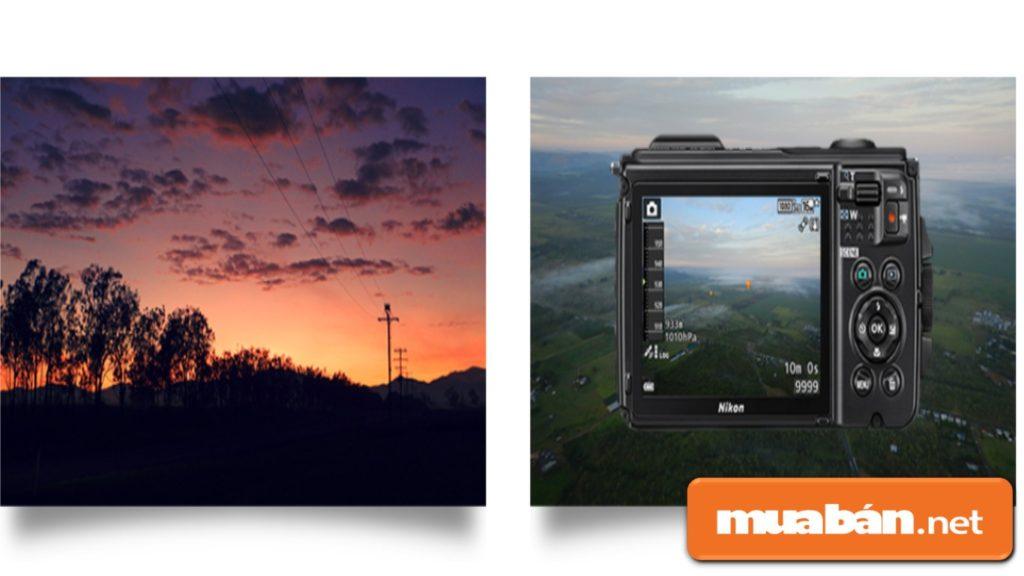 Máy có tính năng khóa phơi sáng tự động giúp cân bằng độ phơi sáng khi chụp ở các điều kiện ánh sáng khác nhau.
