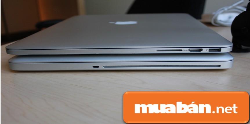 Sự khác biệt giữa Macbook cũ (năm 2012) và mới