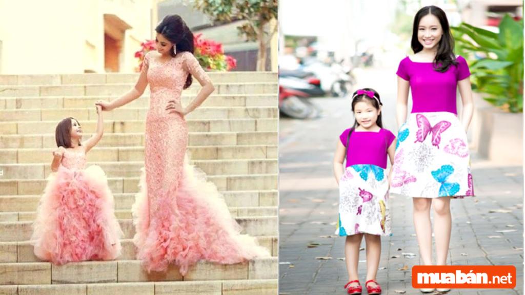 Tha hồ sành điệu với những kinh nghiệm về thời trang mẹ và bé gái dưới đây