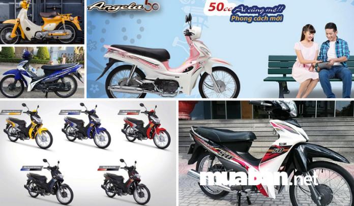 Top 5 chiếc xe máy 50CC phù hợp cho học sinh chưa có bằng lái