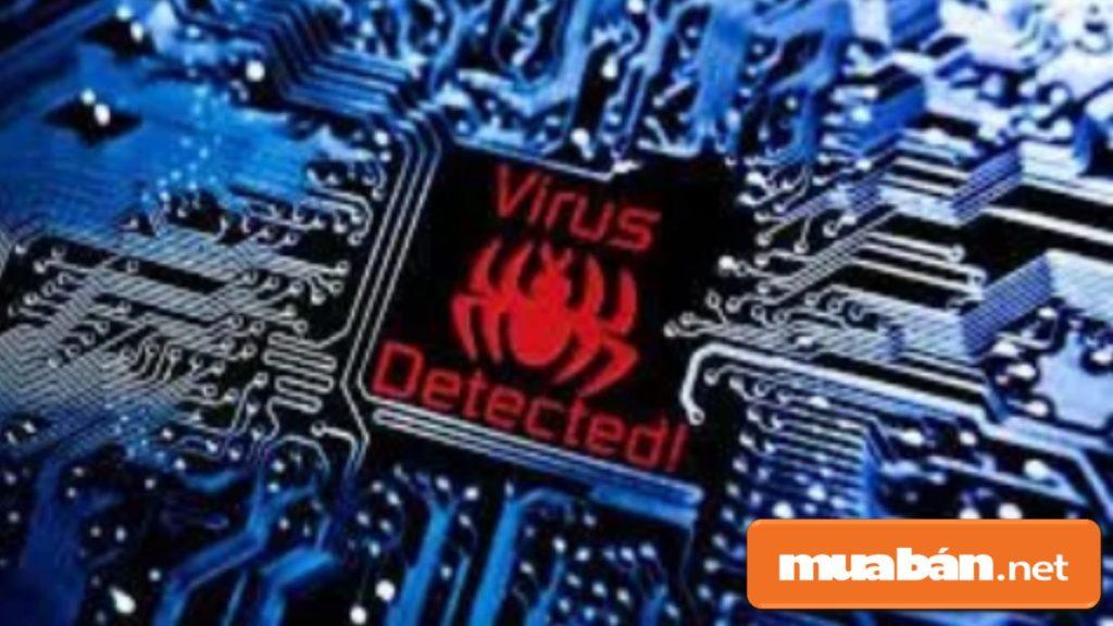 Nếu bàn phím laptop bị liệt do virus, bạn khởi động lại phần mềm diệt virus, reset máy.