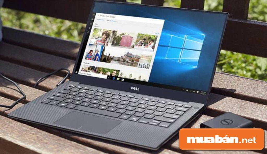 Dell XPS 13 được trang bị bộ vi xử lý Intel Core i5 8250U thế hệ 8 có tốc độ chạy ứng dụng đa nhiệm cực nhanh.