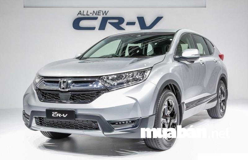 Tháng 11/2017, Honda Việt Nam chính thức giới thiệu mẫu CV-R phiên bản mới nhất với nhiều nâng cấp hoàn toàn mới về ngoại thất.