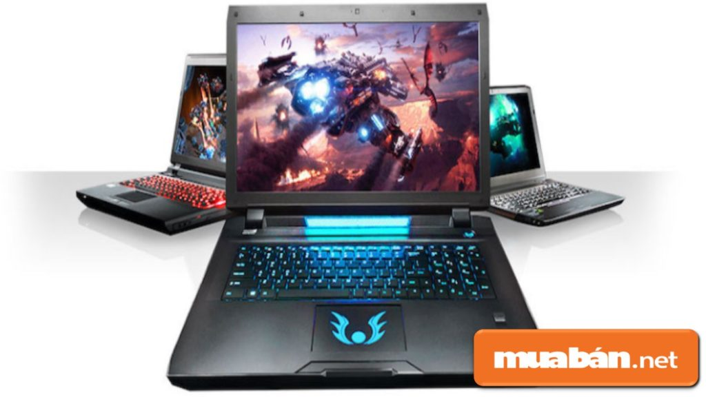 """Laptop chuyên chơi game cho """"hội sinh viên nhà giàu"""" đầu tư vào giải trí."""