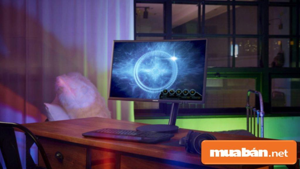 Màn hình máy tính có thiết kế đẹp sẽ hấp dẫn người hơn.
