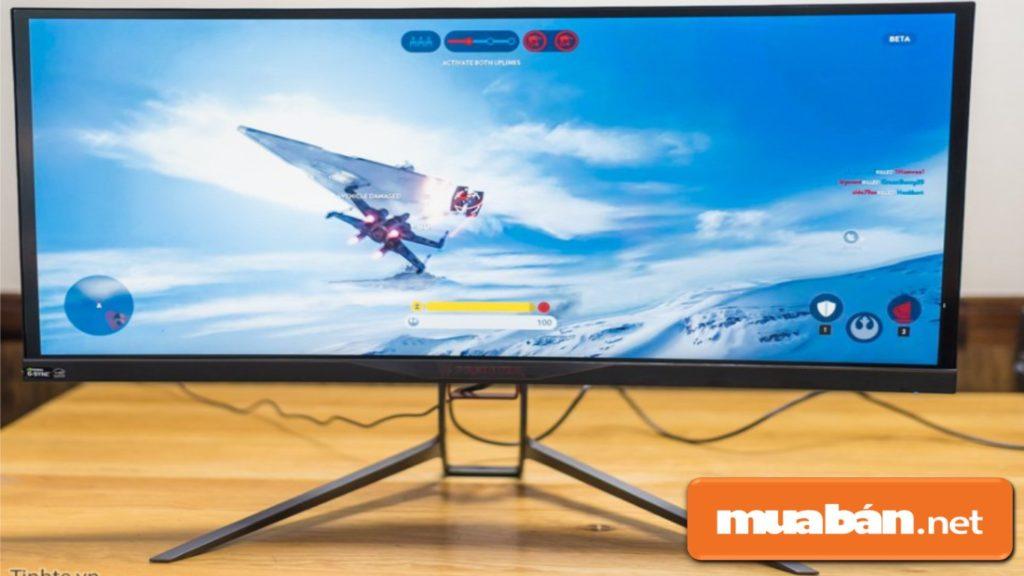 Kích thước màn hình phù hợp nhất là khoảng 24 inch -  27 inch.