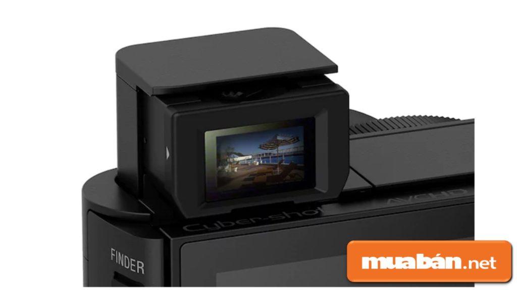 Sony HX90V còn thiết kế khung ngắm OKED Tru-Finder giúp bạn dễ dàng thu gọn hình ảnh.