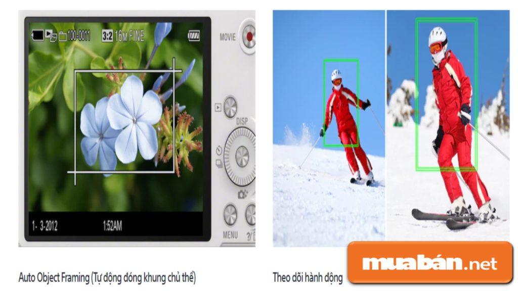 Máy ảnh Sony WX350 tính năng tự động nhận diện chủ thể, giúp chủ thể nổi bật hoàn hảo.