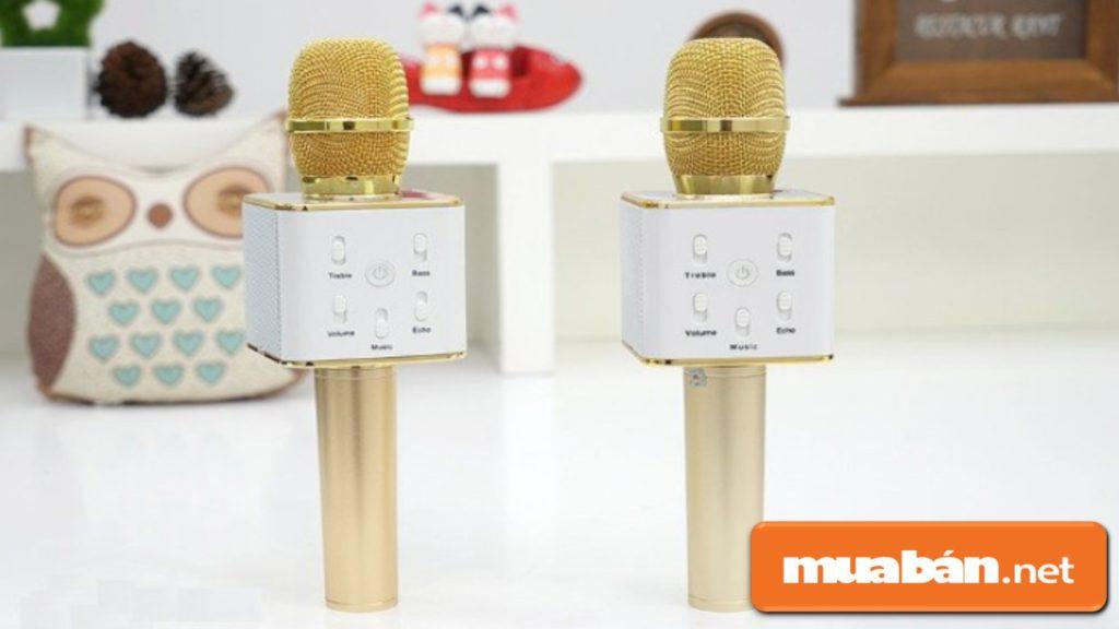 Micro karaoke bluetooth là một sản phẩm dùng để phục vụ cho nhu cầu hát karaoke hiện nay.