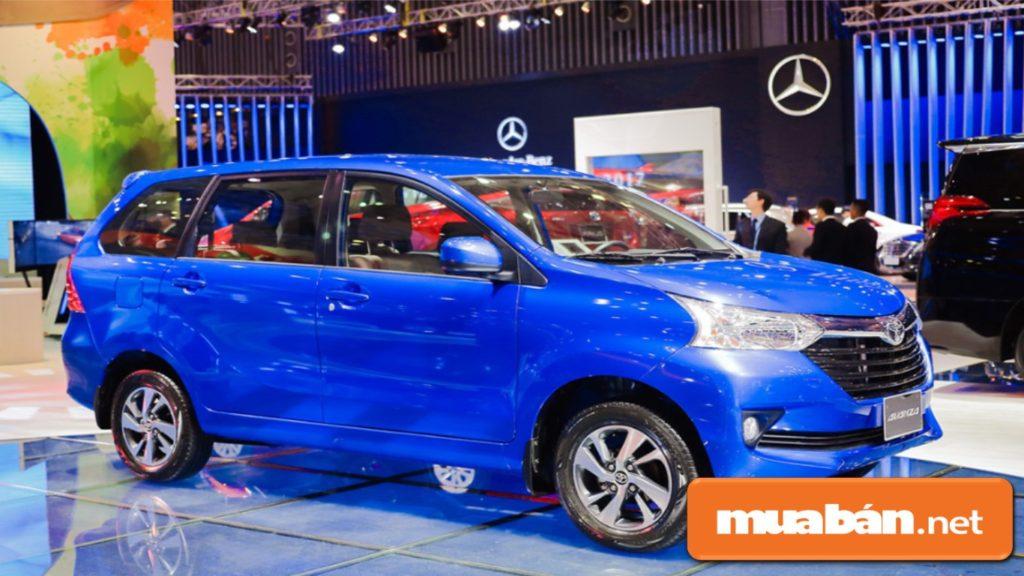 Toyota Avanza từng xuất hiện trong Vietnam Motor Show 2017, được nhập khẩu nguyên chiếc từ Indonesia.