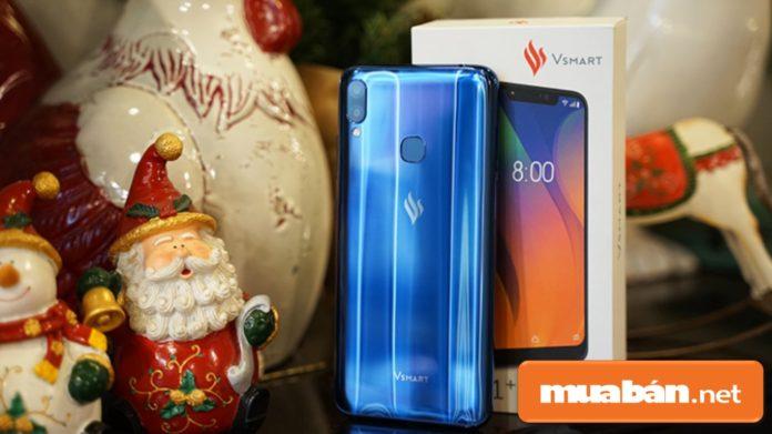 Mẫu điện thoại Vsmart mới được tập đoàn Vingroup tung ra vào ngày 14/12 vừa qua.