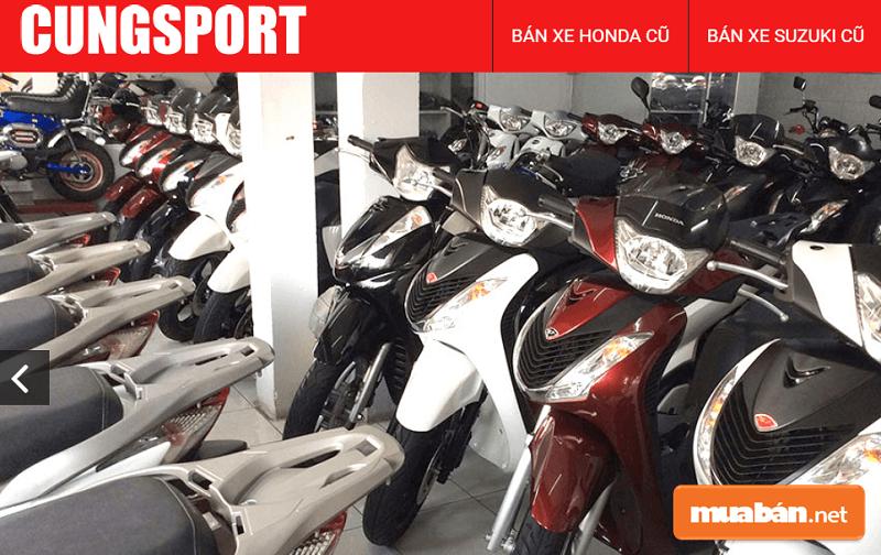 Cung sport là một doanh nghiệp lâu đời trong lĩnh vực kinh doanh xe máy cũ tại TPHCM.