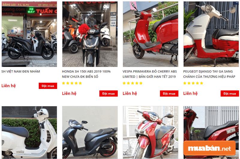 Thêm một nơi mua bán trao đổi xe máy cũ uy tín tại Sài Gòn nữa đó chính là DNTN Tuấn Cương.