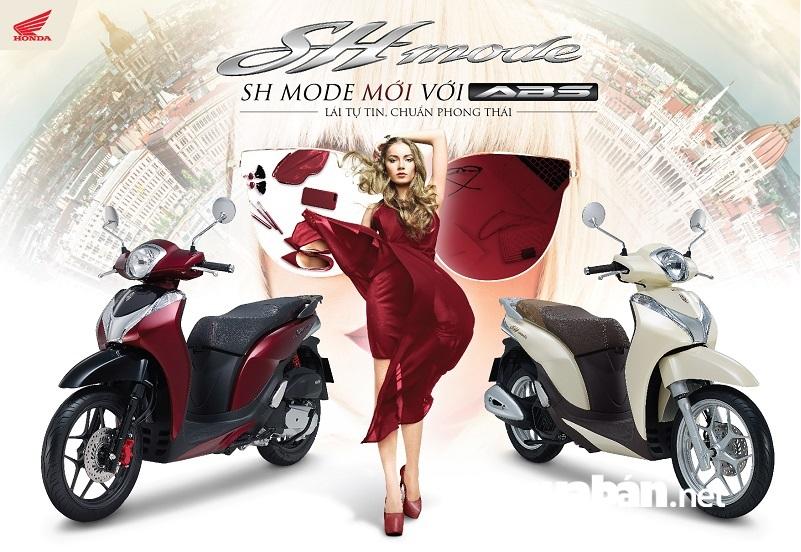 SH Mode - dòng xe tay ga hạng sang cho phái đẹp.