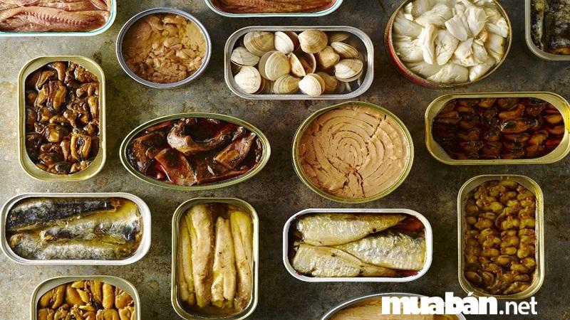 Cách bảo quản các loại thực phẩm đóng hộp, ăn sẵn