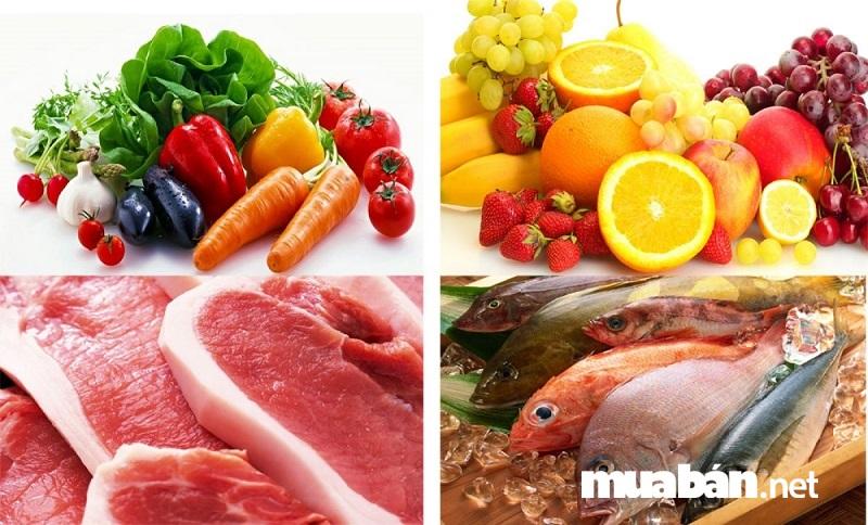 Biết cách phân loại thực phẩm