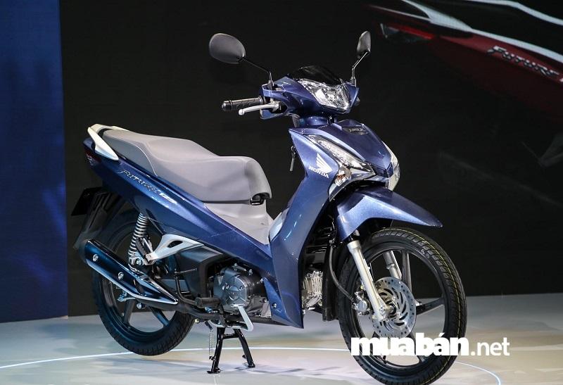 Honda Future phiên bản mới nhất đang sử dụng khối động cơ 125 cc, 4 kỳ, xy-lanh đơn.