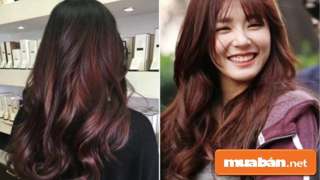 Những cô nàng có làn da trung tính có thể lựa chọn màu nâu đỏ, nâu ánh đồng để cho khuôn mặt sáng hơn.