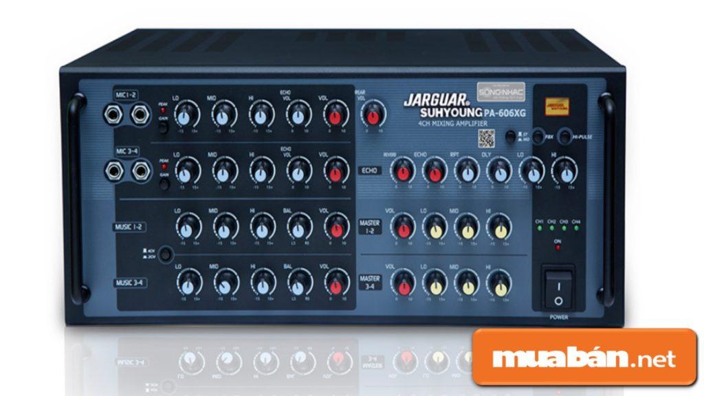 Amply đóng vai trò hỗ trợ chính cho loa trong quá trình phát âm thanh.