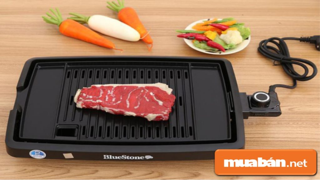 Bếp nướng điện sẽ giúp bạn tổ chức bữa tiệc nướng tại nhà an toàn, nhanh chóng trong những ngày Tết.