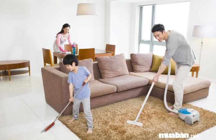 Mách bạn cách dọn nhà đón Tết siêu nhanh và hiệu quả