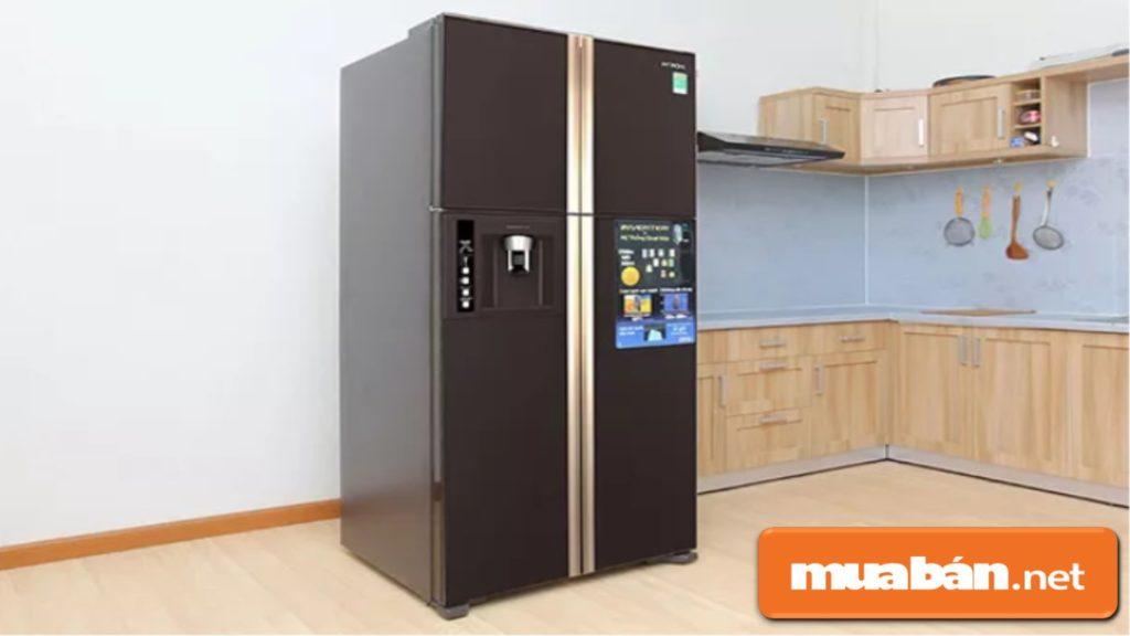 Tủ lạnh Hitachi có khá nhiều mẫu mã, màu sắc và kiểu dáng khác nhau.
