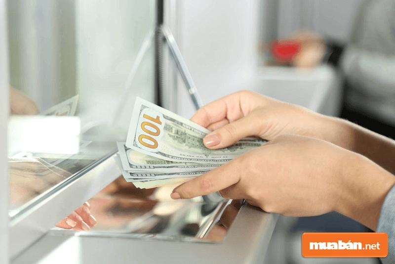 Thời gian nhận được tiền của người nhận sẽ khác nhau đối với từng cách chuyển.