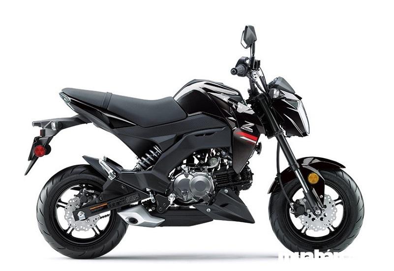 Kawasaki Z125 Pro 2019 có ngoại hình không có nhiều thay đổi so với phiên bản trước đó