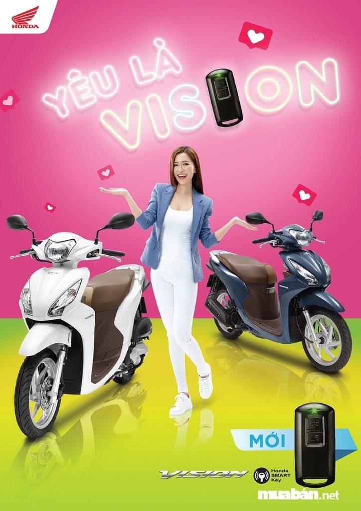 Honda Vision 2019 Smartkey