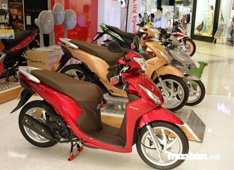Giá bán của Honda Vision 2019 Smartkey