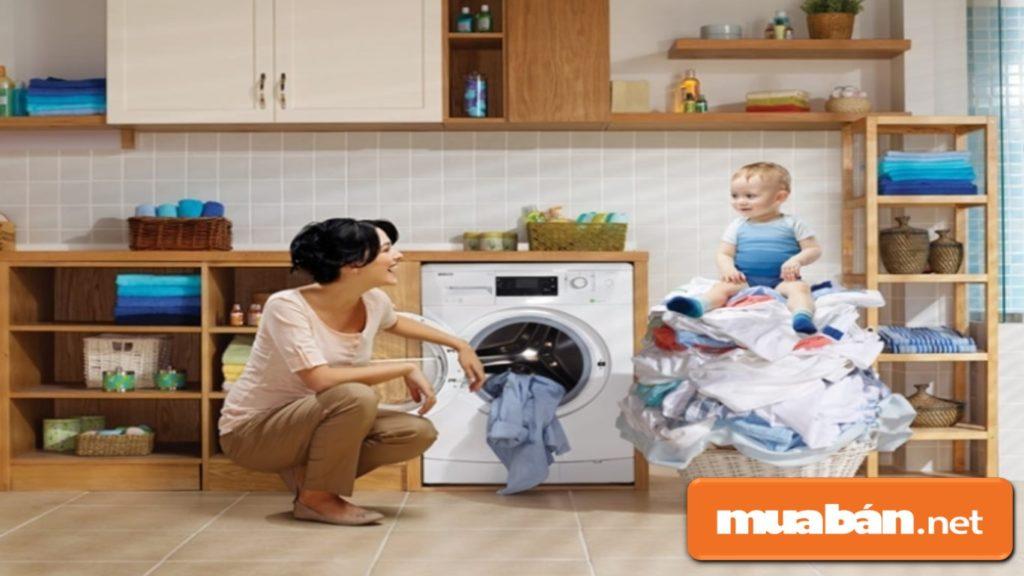 Máy giặt sấy tích hợp chức năng giặt và sấy khô trong cùng một sản phẩm.