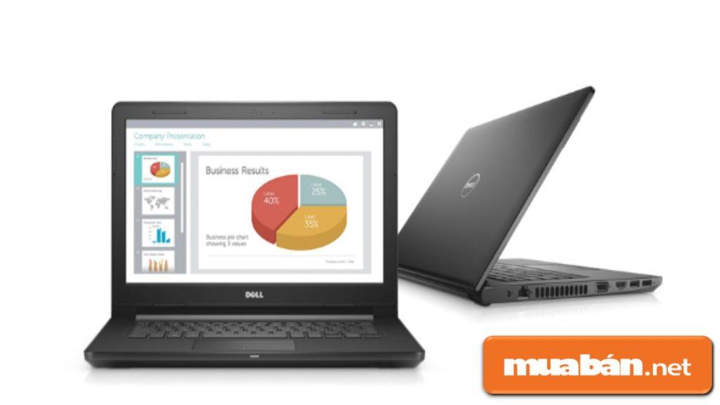 Mua laptop Dell có lợi thế là khá bền, dễ mang di chuyển trong lúc đi học, đi làm.