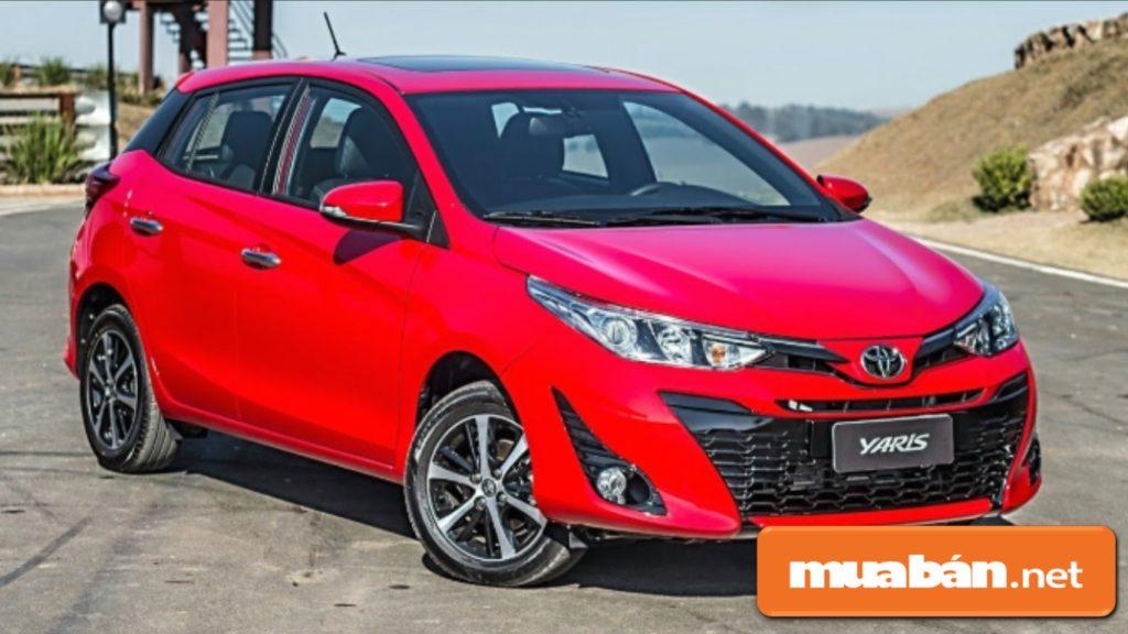 Toyota Yaris đáp ứng được nhu cầu sử dụng cho các chị em vì kích thước nhỏ, gọn.