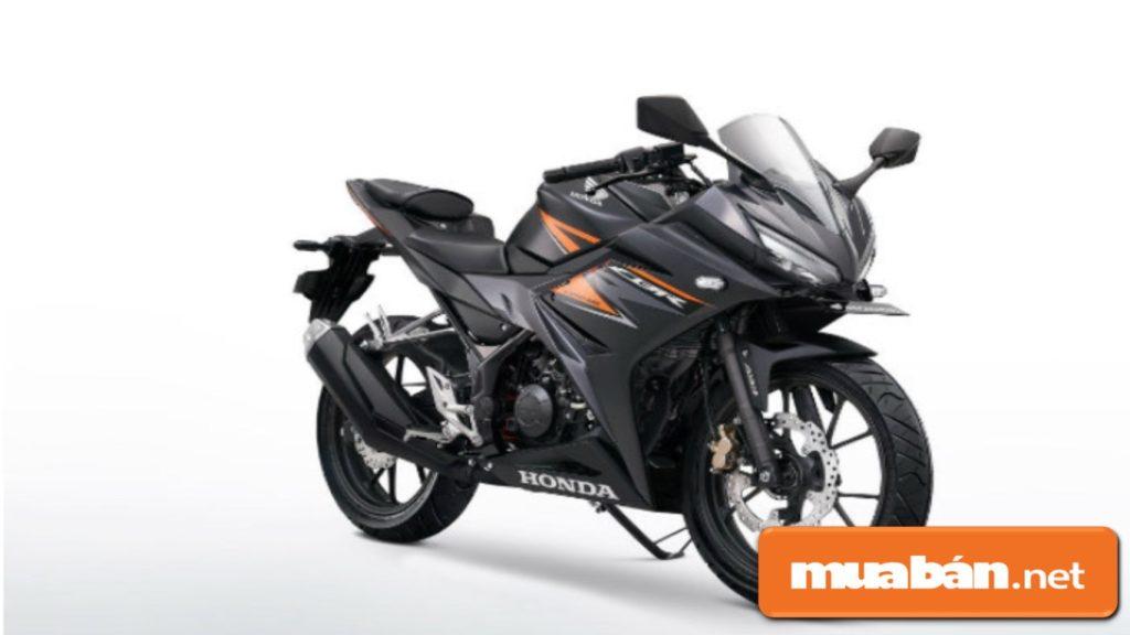 Xe tay côn Honda CBR150R nổi bật với hệ thống phanh chống bó cứng ABS .