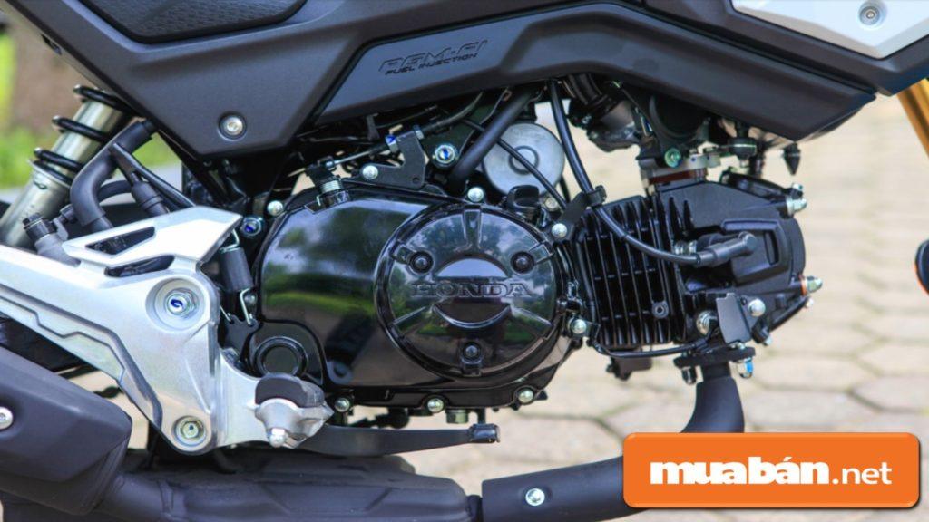 Honda MSX 125 sử dụng động cơ 4 thì, xy-lanh đơn với dung tích 125CC.