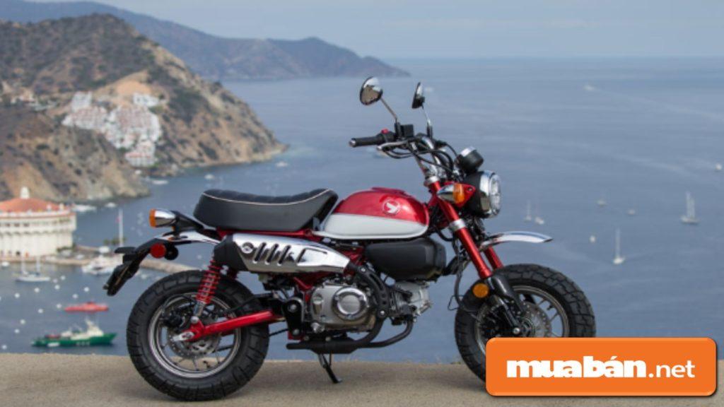 Xe máy Honda Monkey 125 được nhập khẩu nguyên chiếc từ Thái Lan.