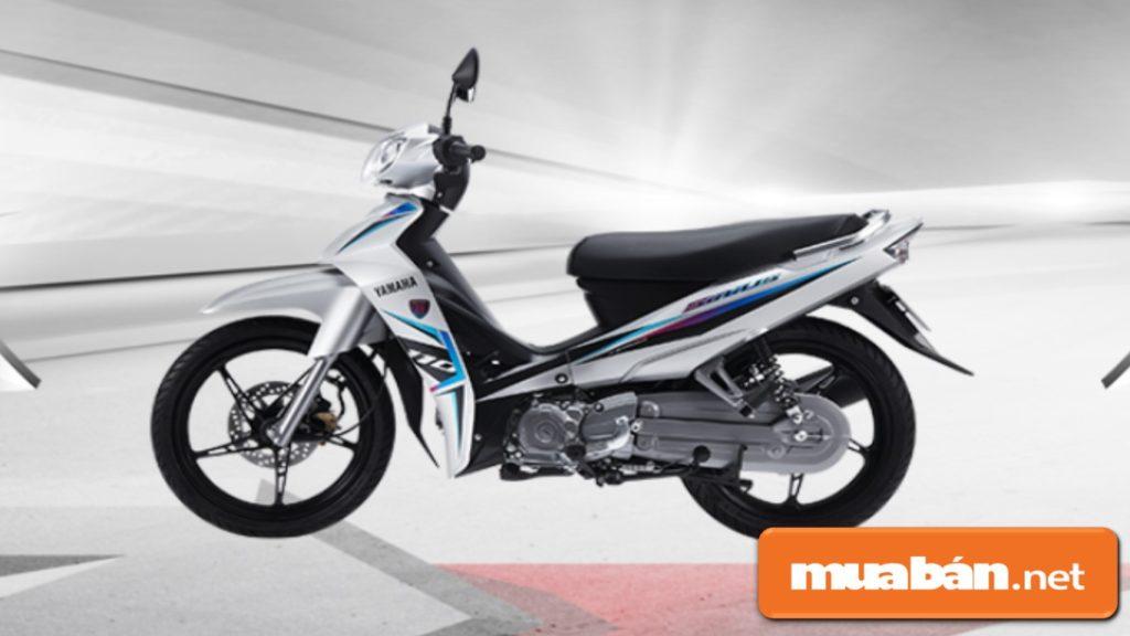 Yamaha Sirius RC có dung tích bình xăng 4,2 lít.