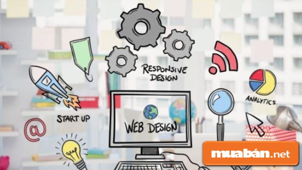 Lập trình web và thiết kế web có sự giao thoa với nhau về nội dung và tính chất công việc.