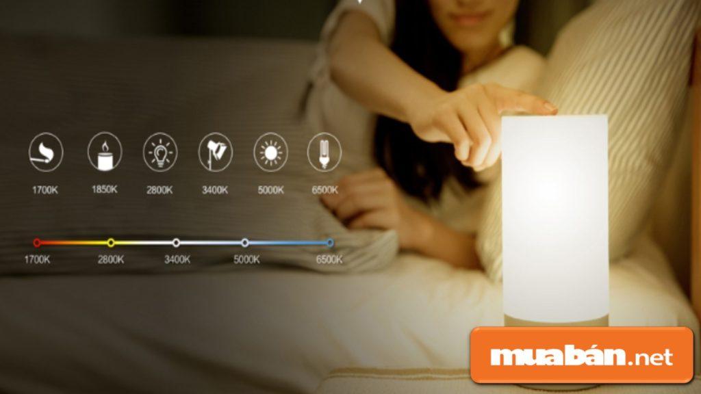 Nên sử dụng các loại đèn ngủ có công tắc điều chỉnh độ sáng để chủ động hơn.