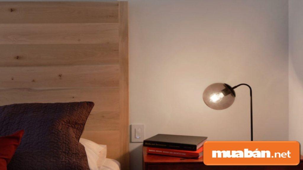 Lựa chọn đèn ngủ đúng nhu cầu và đặt đúng vị trí phù hợp.