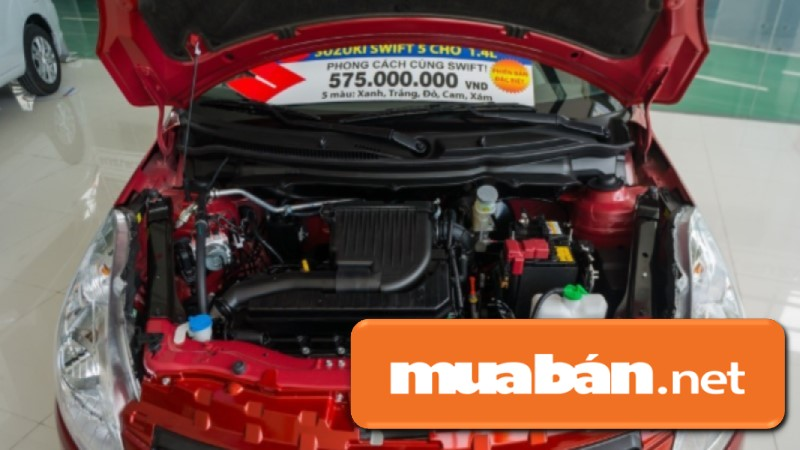Xe ô tô Suzuki Swift sử dụng động cơ xăng 1,2 lít, hộp số tự động vô cấp CVT, hệ thống phun xăng đa điểm.