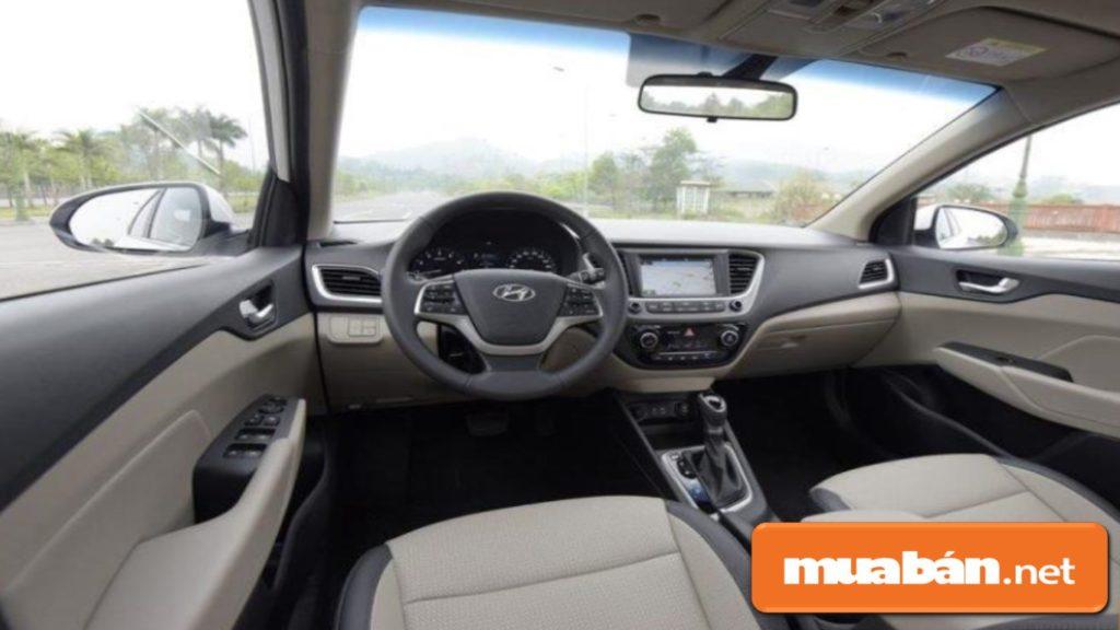 Nội thất xe thiết kế hiện đại, tinh tế với không gian rộng cùng với việc trang bị các công nghệ cao cấp.
