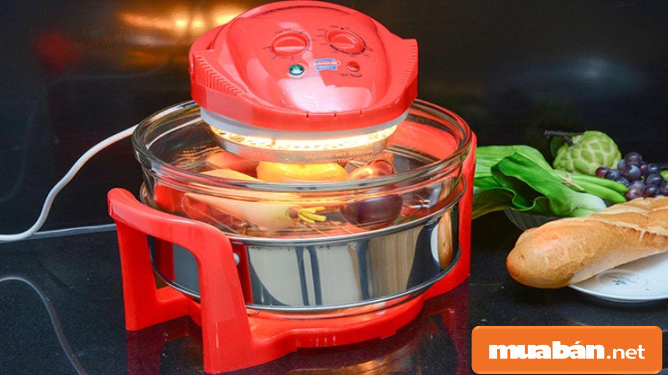 Nếu mua lò nướng thủy tinh, nên chọn thủy tinh cứng, có tính năng chịu nhiệt cao.
