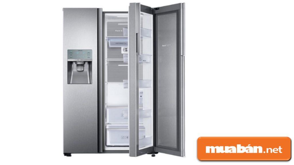 Samsung không có nhiều trung tâm bảo hành để hỗ trợ khách hàng khi tủ lạnh gặp sự cố.